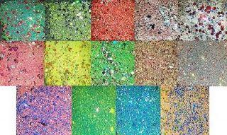Soda Pop Line Nail Art Glitter Mix Spangles Fine Glitter Mylar Caviar