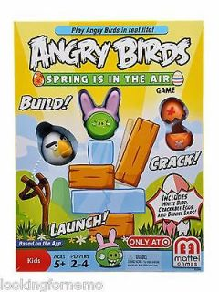 Mattel Angry Birds Exclusive Board Game Spring is in the Air VHTF RARE