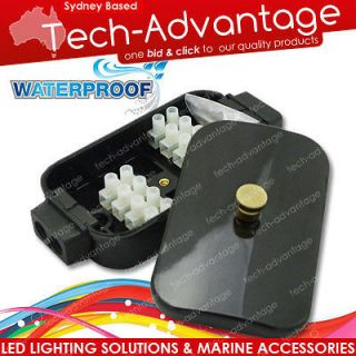 BOAT MARINE ELECTRICAL CONNECTION BOX WATERPROOF 40 AMP