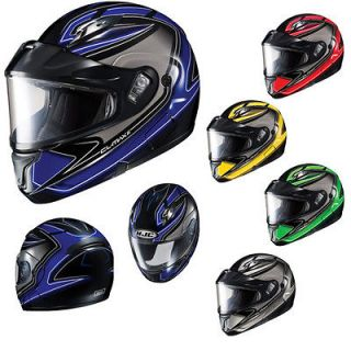 Helmet HJC CL MAX II BT Zader Bluetooth Ready Snowmobile Helmet