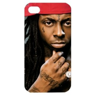 NEW Lil Wayne Image in iPhone 4 or 4S Hard Plastic Case Cover 1099