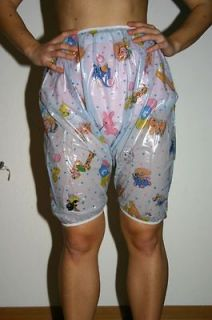 Adult Baby Plastic PVC unisex bloomers incontinence