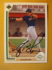 Greg Blosser Autographed Signed 1991 Upper Deck Card Red Sox NM NM+