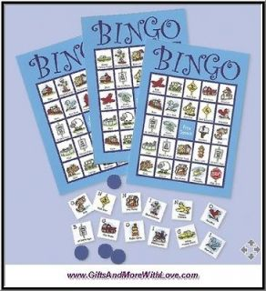 Travel Bingo PORTABLE CAR GAMES ~ Keep Kids Entertained for Road Trips