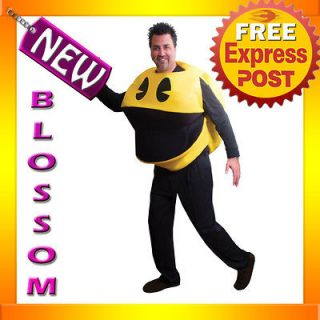 C148 Men Funny Pac Man Deluxe Adult Costume One Size