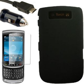Case+Car Charger for Blackberry Torch 9800 9810 H Snap On 4G Hard