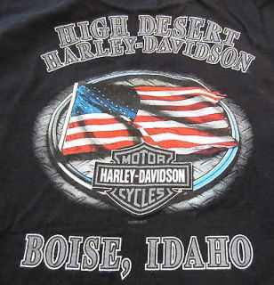 HARLEY DAVIDSON HIGH DESERT BOISE, ID SHORT SLEEVE T SHIRT MENS XXL