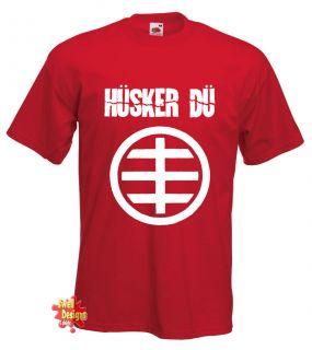 HUSKER DU punk, new wave, rock, indie T Shirt all sizes