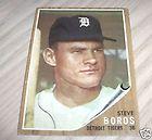 1962 Post 16 Steve Boros Detroit Tigers EX
