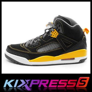 Nike Jordan Spizike [315371 030] Basketball Spike LEE Black/Gold Dar k