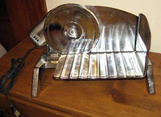vintage rival electric food slicer