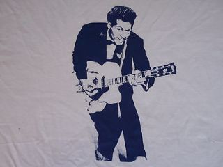 CHUCK BERRY T SHIRT BO DIDDLEY ROCK N ROLL ROLLING STONES JERRY LEE