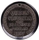 1837 1897 Bolton Queen Victoria Diamond Jubilee Medal