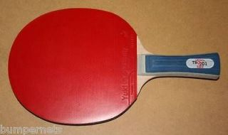 New Butterfly TBC201 FL Ping Pong Paddle Shake Hand Table Tennis