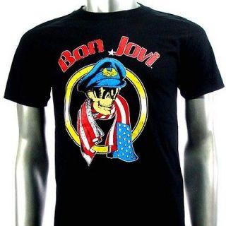 Sz M Bon Jovi T Shirt American Punk Rock S59
