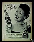 1965 Royal Crown Cola Soda Pop Bottle Women In Pearls A