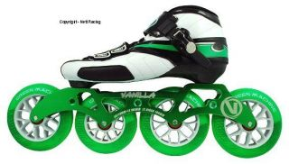 Vanilla Green Machine Inline Speed Skates    Size 5   13