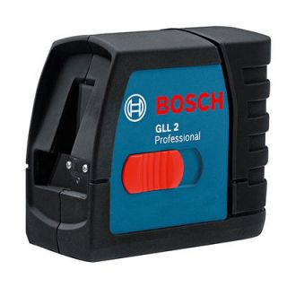 BOSCH GLL 2 Professional Line Laser Self Level Cross GLL2   Free