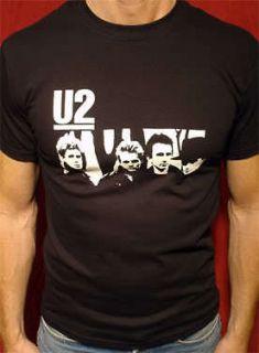 U2 t shirt vtg tour bono the edge beatles inxs rolling stones police