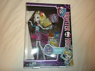 Monster High Doll Lagoona Blue Dot Dead Gorgeous. New Pet/Smoke Free