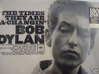 BOB DYLAN Times A Changin LIMITED 180 GRAM COLUMBIA RECORDS STEREO