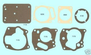 Borg Warner T86 T 86 T90 T 90 Transmission Gasket Set BEST w/6 bolt