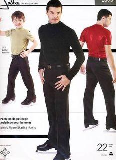 Jalie Mens & Boys Figure Ice Skating Pants Sewing Pattern # 2803 in