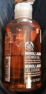 The Body Shop Neroli Jasmin Shower Gel / Body Wash, 6.75 oz/200 ml