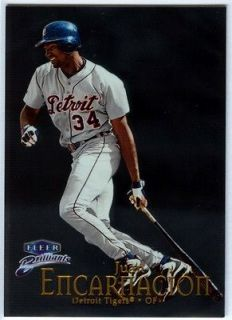 1999 Fleer Brilliants   Juan Encarnacion [68]   Detroit Tigers   SUPER