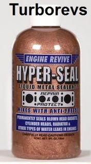 ENGINE REVIVE HYPER SEAL HEAD GASKET CYLINDER DIY SEALANT REPAIR