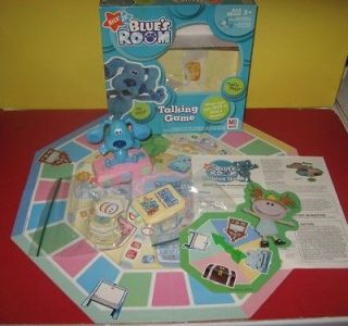 Milton Bradley Nick Jr. Blues Clues Blues Room Talking Game