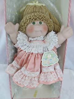 VINTAGE JESSICA LOUISE CABBAGE PATCH PORCELAIN DOLL SIGNED LIMITED