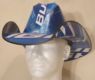Beer Box Cowboy Hat Making Service *FREE BUD LIGHT BOXES* NASCAR Party