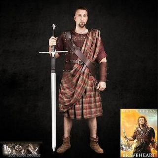 Newly listed William Wallace Kilt & Belt Set Braveheart Prefect For Re