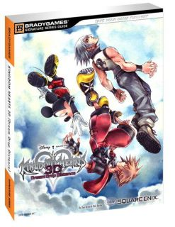 Kingdom Hearts 3D Dream Drop Distance Official Game Strategy Guide New