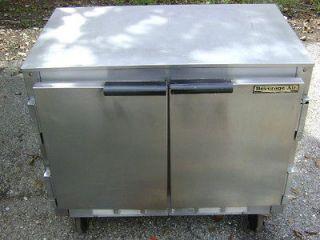 Beverage Air Double 2 Door Lowboy Refrigerated Worktop Cooler UCR 34