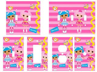 Lalaloopsy Girls Room Light Switch Cover, Outlets, Triple, Etc You