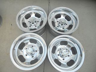15 x 8.5 INDY SLOT MAG SET WHEELS FORD TRUCK JEEP MAGS VAN BRONCO