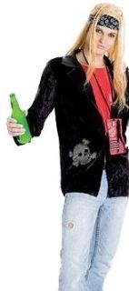 Men Bret Michaels 80s Metal Rock Star Halloween Costume