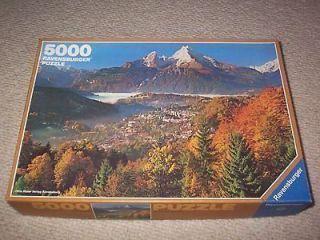 5000 PIECES PUZZLE RAVENSBURGER / AUTUMN IN THE ALPS