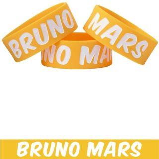 Bruno Mars Wristband Bracelet In Stock Merchandise for Fans Brand New