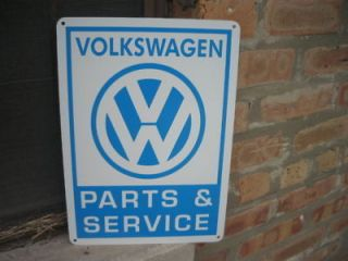 Volkswagen Parts & Service sign VW Bug Bus Bettle 66 69