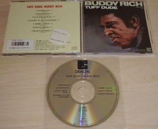 BUDDY RICH Tuff Dude CD 1986 Denon Japan