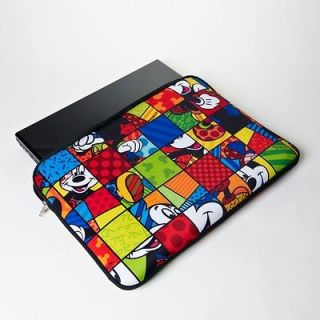 Disney Mickey Mouse 17 Laptop Cover Case by Romero Britto NEW