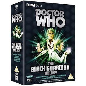 Doctor Who The Black Guardian Trilogy DVD Box Set Sci  Fi TV Series