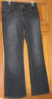 RALPH LAUREN POLO Womens Black Distressed Jeans Stretch Kelly sz 6