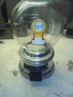OLD FORD GUMBALL MACHINE NICE FREE GUMBALLS