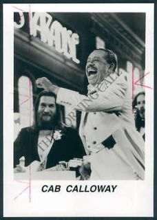 MC PHOTO ahl 932 Cab Calloway Jazz Musician Band Leader