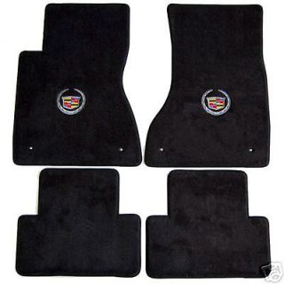 Cadillac CS 4 pc Carpeed Floor Mas wih Choice of Logo   Lloyd