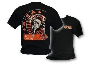 NEW SO CAL SPEED SHOP FIRERITE LOGO T SHIRT BLACK HOT ROD RAT